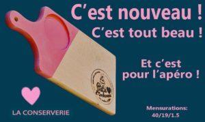 Planche apéro fabriquée en France